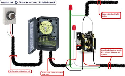 hvac contactor wiring diagram for compressor contactor