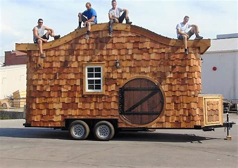 house on wheels hobbit house on wheels incredible tiny homes