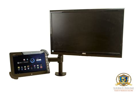 non vesa monitor desk mount gsa12 gas spring desk mount lcd monitor stand w vesa