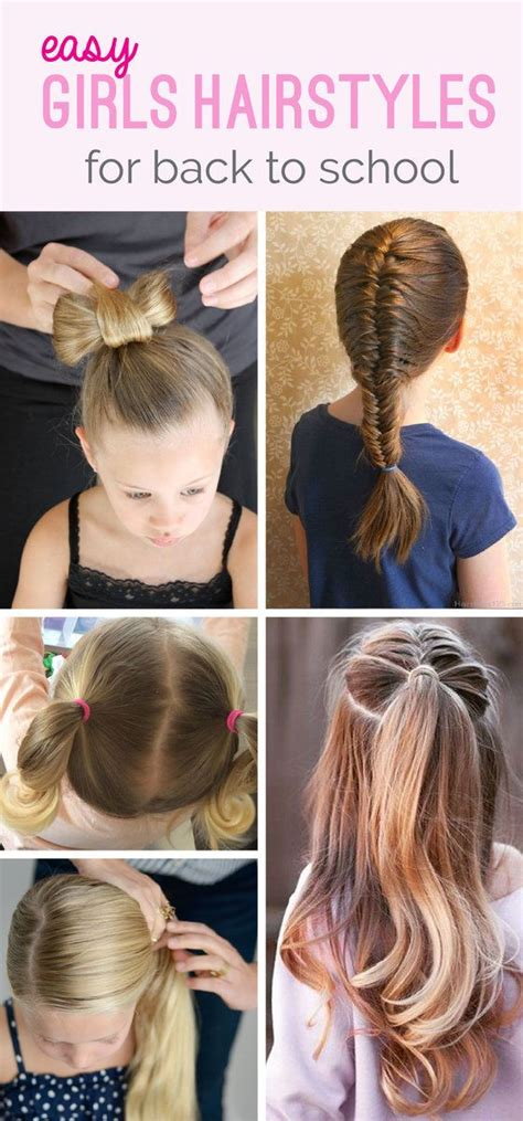 hairstyles for back school 1000 ideas about easy teen hairstyles on pinterest teen