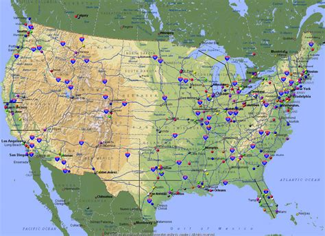 map of usa canada and mexico maps of usa and canada