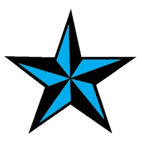 blue star tattoo nautical www pixshark images galleries with a