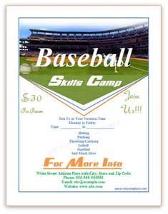 Baseball Fundraiser Flyer Template by Best Photos Of Baseball Flyer Template Free Sports Flyer