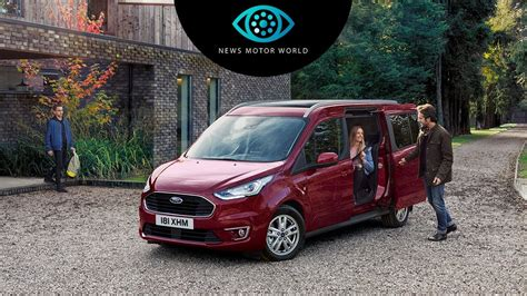 Ford Tourneo Connect Maße by 2018 Ford Tourneo Connect Revealed