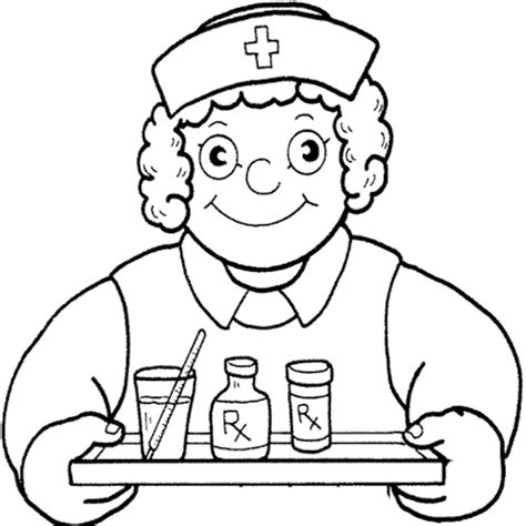 coloring page nurse image gallery nurse coloring