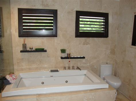 plantation shutters in bathroom plantation shutters traditional bathroom miami by chio s interior designs