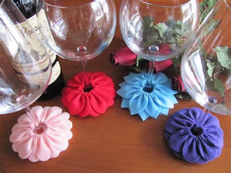 pattern for fabric wine coasters wine glass slipper pattern stemware coaster pattern felt