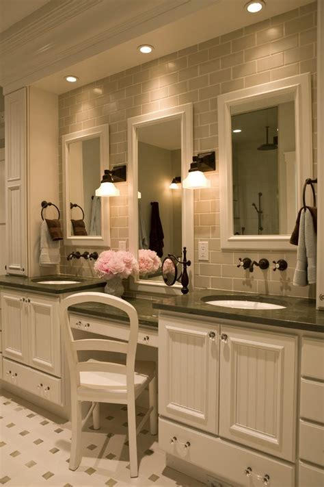 york double pedestal sink bathroom traditional
