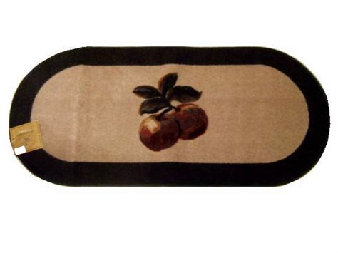 apple kitchen rug large oval apple themed apples kitchen rug