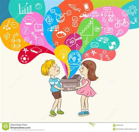 Education Box and education box stock illustration image 84655330