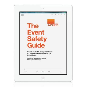 event design guide how jim digby and the event safety alliance can save your ass