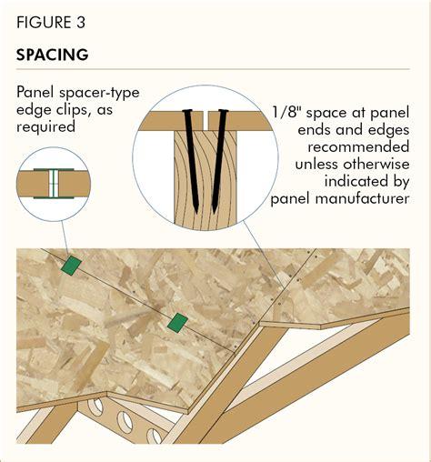 Apa Builder Tips Proper Installation Of Apa Rated