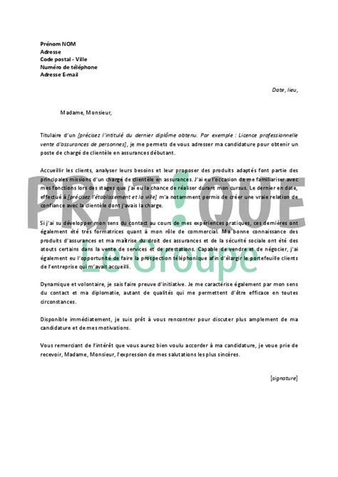 Lettre De Motivation Pour Licence Banque Assurance Finance Lettre Motivation Assurance Lettre De Motivation 2017