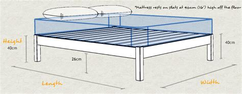 bed height platform bed space saver get laid beds