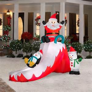 amusing christmas inflatables outdoor twuzzer