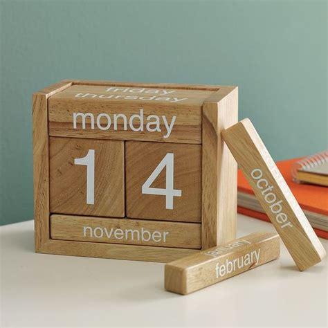 Calendar Wooden Perpetual Calendar Wooden Blocks