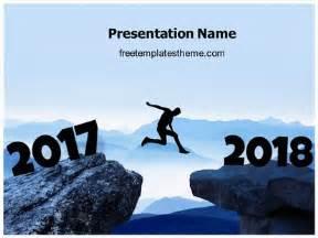 free welcome 2018 powerpoint template freetemplatestheme com