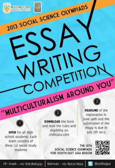 Essay Writing Competitions essay writing competition