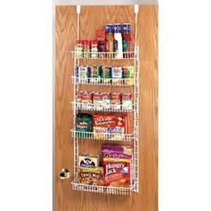 Closetmaid Pantry Grayline Housewares Adjustable 5 Shelf Over The Door