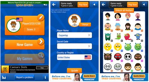 quiz game layout quiz bowl an online trivia game for windows phone 8