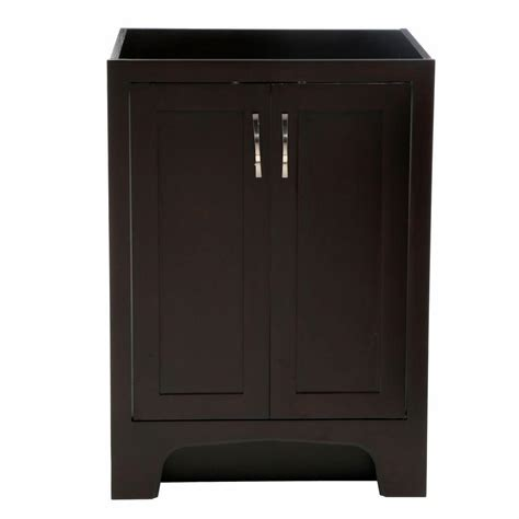 design house vanity design house ventura 24 in w x 21 in d two door unassembled vanity cabinet only in