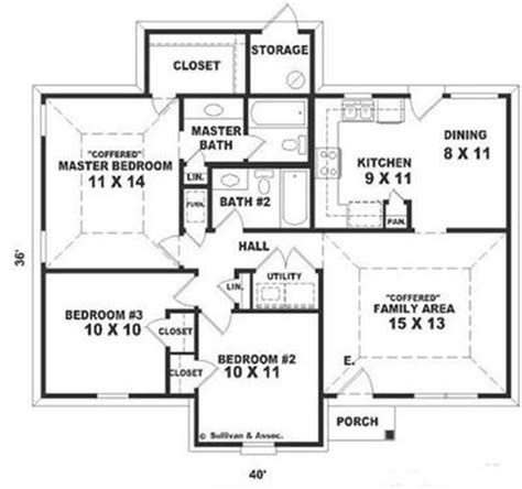 small ranch floor plans small ranch traditional house plans home design su1626