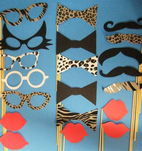 animal print photo booth props google search wild party on pinterest jungle theme animal print party and