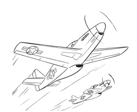 P 51 Mustang Coloring Pages by P 51 Mustang Coloring Page Coloring Pages