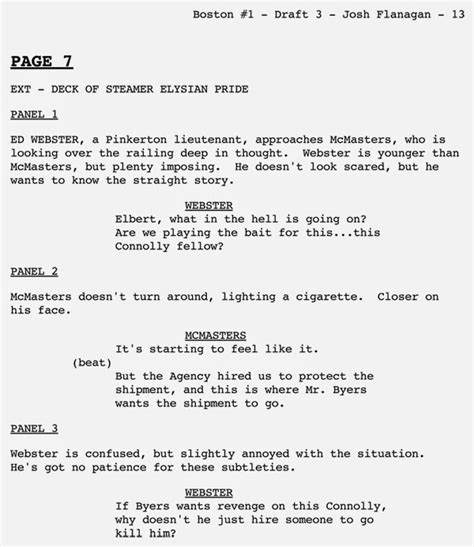 Comic Book Script Template by The Craft Of Writing Comic Book Script Format