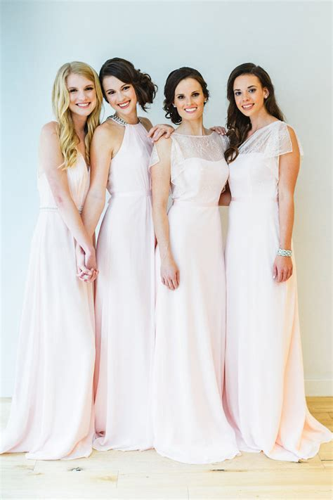 blush colored bridesmaid dresses affordable blush bridesmaid dresses