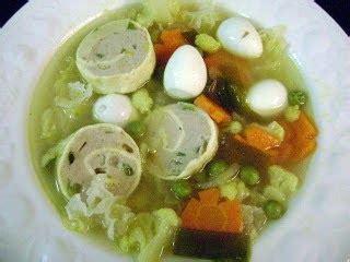 Makaroni Kocok resep sup rolade makaroni jamur