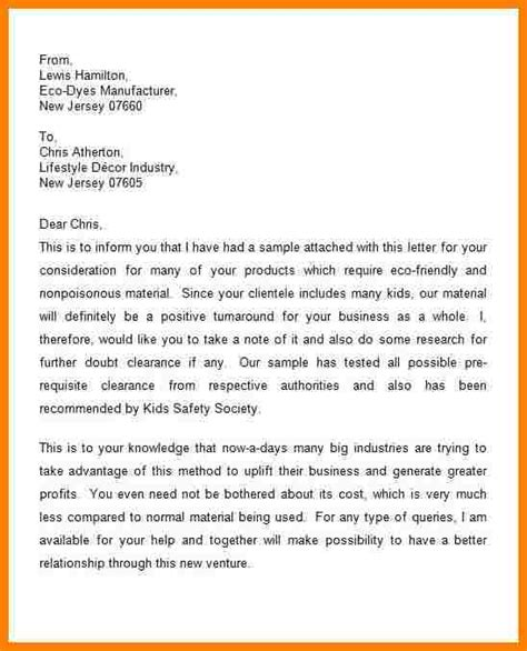 Draft Introduction Letter Company 5 How To Write An Introduction Letter To Introduce A Company Introduction Letter