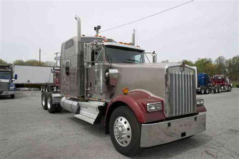 kenworth w900 2007 sleeper semi trucks