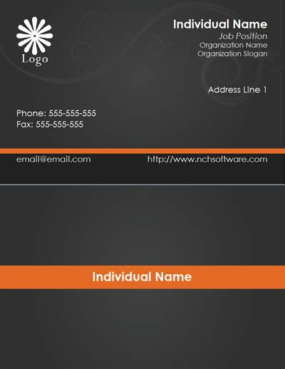 formal business card template free business card templates for cardworks business card maker