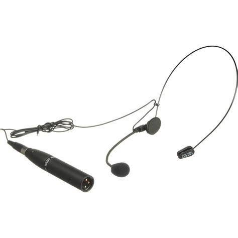 condenser microphone headset nady hm 5u headmic unidirectional condenser headset hm 5u b h