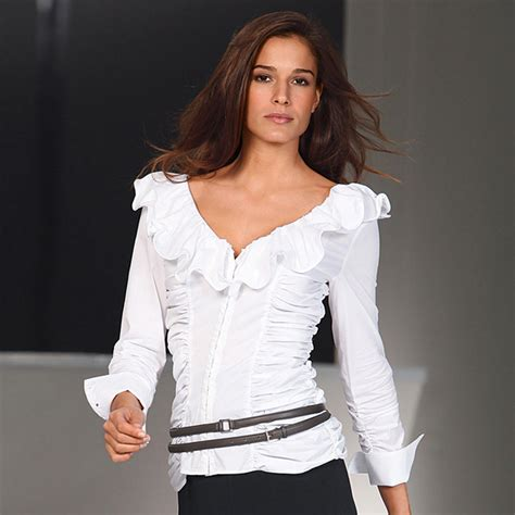 White Tops And Blouses Uk by Buy Diego Reiga Ruffled Blouses