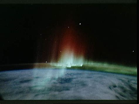 auroras from space pictures northern lights from space nasa pics about space