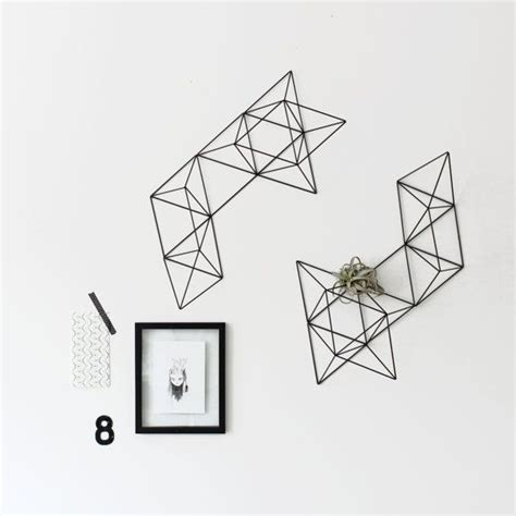 large brass abstract himmeli no 1 wall sculpture large abstract himmeli no 1 rigid straw wall by