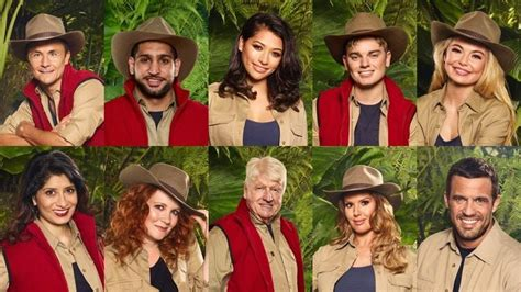celebrity jungle 2017 whos going in i m a celebrity 2017 cast confirmed meet celebrities on