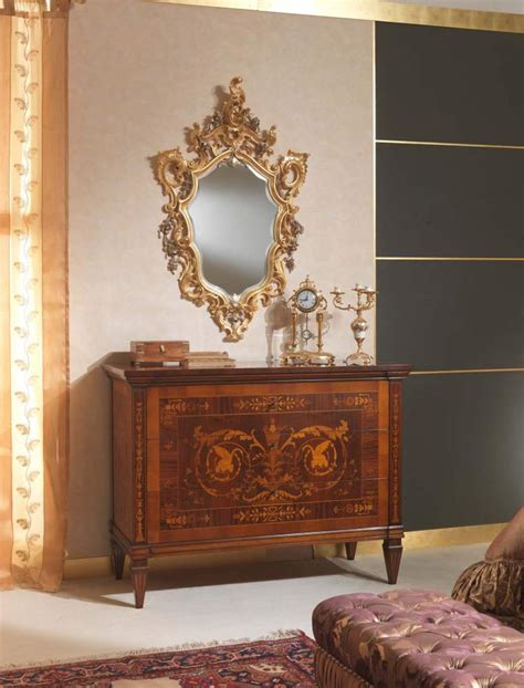 classic italian bedroom 18th century carved chest of
