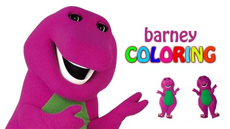 colors of episode barney coloring pages coloring episode barney color