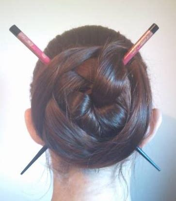 plaiting hair using chopsticks 17 best images about twisting braiding on pinterest