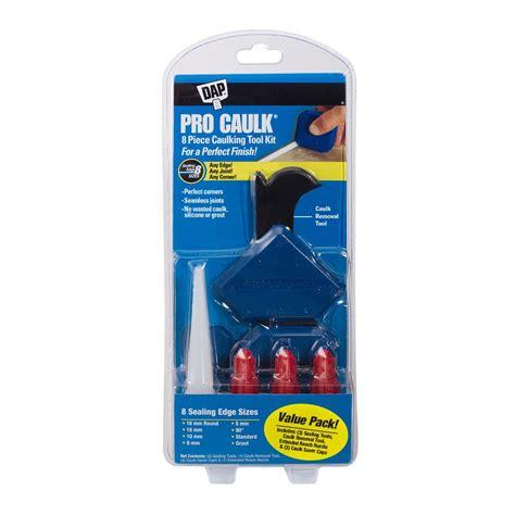 bathroom caulking tools dap pro caulk caulking tool kit 4 piece 09125 the home depot