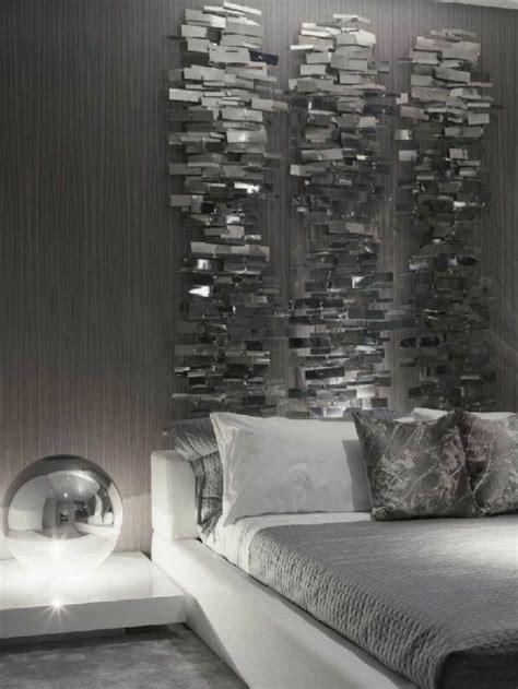 ideen wandgestaltung schlafzimmer tapete in grau stilvolle vorschl 228 ge f 252 r wandgestaltung