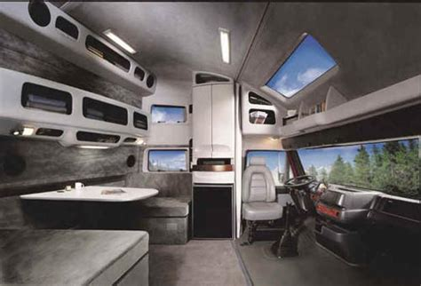 Inside Of Sleeper Trucks by Volvo Semi Truck Sleeper Interiors Pictures To Pin On