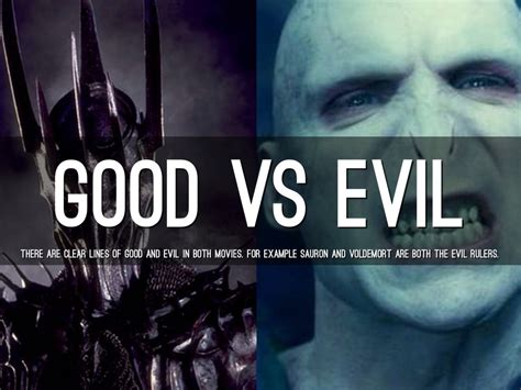 good vs evil theme in lord of the flies lord of the rings vs harry potter by cameron tuttle