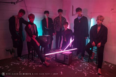 the comeback part one losing it all books photo monsta x quot the clan quot mv kpopmap