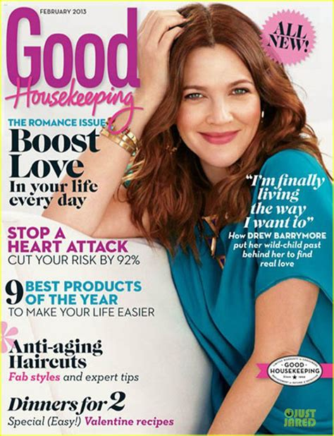 good housekeeping com full sized photo of drew barrymore covers good