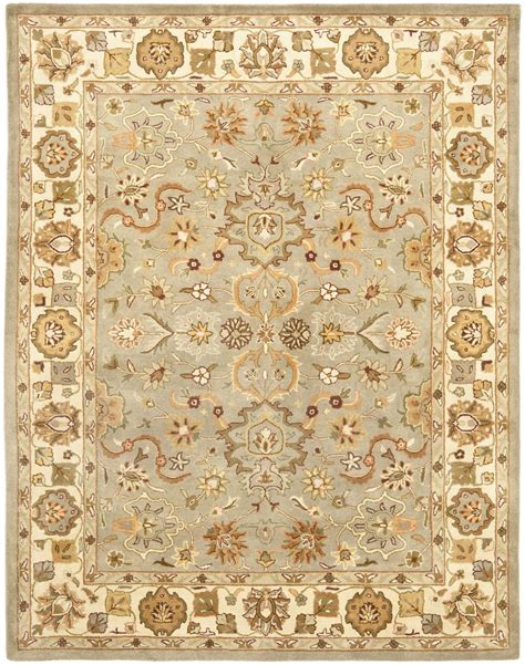 green and beige rug safavieh heritage hg959a light green and beige area rug free shipping