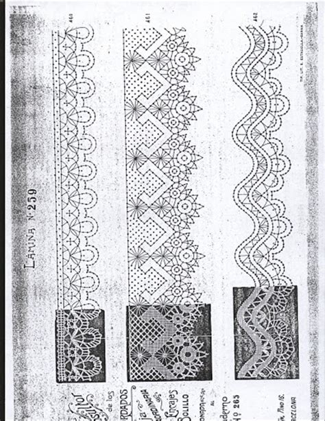 antique pattern library bobbin lace lace prickings bobbin lace patterns pinterest lace